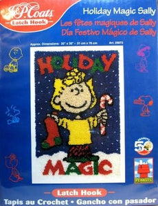 Holiday Magic Sally Latch Hook Kit
