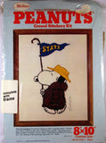 Peanuts Crewel Stitchery Kit - State Fan
