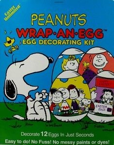 Peanuts Gang Easter Egg Decorating Kit
