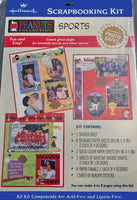 Peanuts Gang Scrapbook Kit - Sports