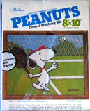 Peanuts Crewel Stitchery Kit -  Tennis