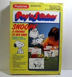 Snoopy Pop 'n Stitcher Kit