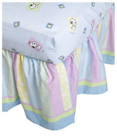 Lambs & Ivy Snoopy and Family Crib Skirt / Dust Ruffle