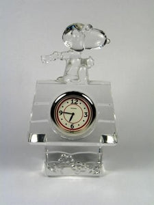 Flying Ace Waterford Crystal Clock