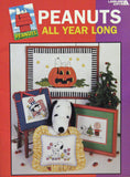 Peanuts All Year Long Cross Stitch Booklet