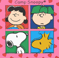 Camp Snoopy 2-D Magnet - Peanuts Gang