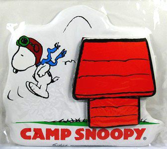 Camp Snoopy Flying Ace Magnetic Puffy Note Pad