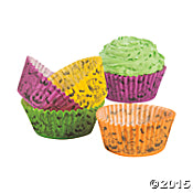 Peanuts Baking Cups (Cupcake Liners) - Halloween