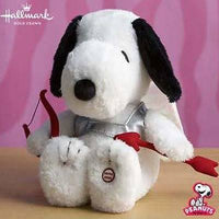 Cupid Snoopy Sound and Motion Valentine's Day Plush Doll