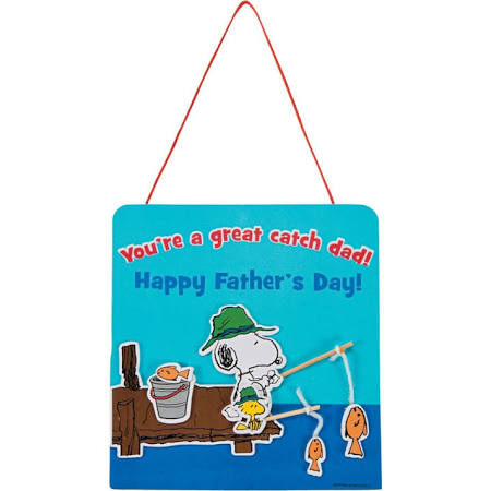 Peanuts Father's Day Sign Craft Kit