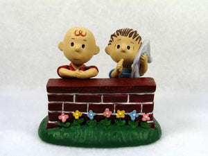 """Charlie Brown and Linus"" Danbury Mint Figurine"