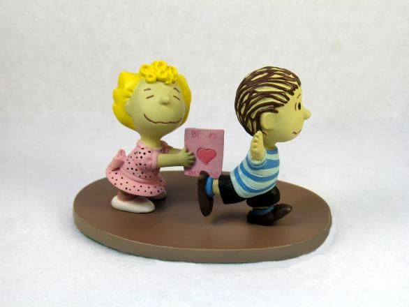"""Sally's Valentine"" Danbury Mint Figurine"