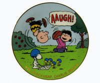 Danbury Mint Magical Moments Plate - You Blockhead, Charlie Brown!