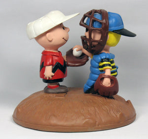 """Baseball Mound"" Danbury Mint Figurine"