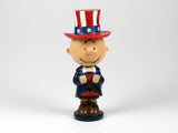 Danbury Mint Patriotic Peanuts Figurine - Charlie Brown