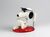 Danbury Mint Snoopy Spring Figurine - Poker Player