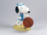 Danbury Mint Snoopy Spring Figurine - Basketball Player