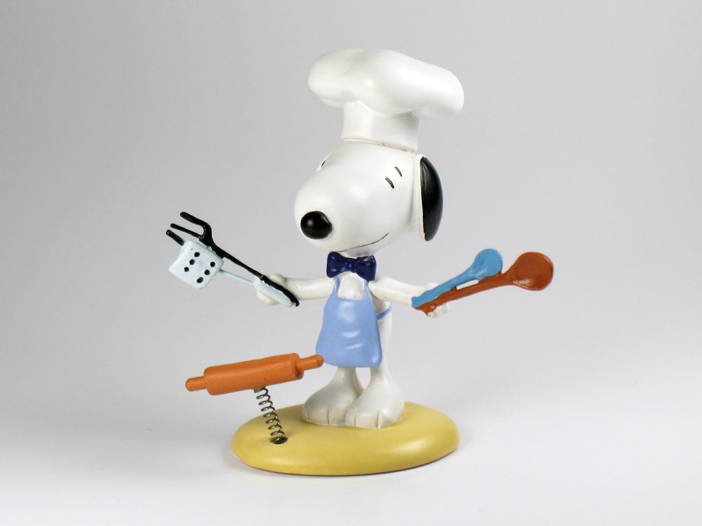 Danbury Mint Snoopy Spring Figurine - BBQ Chef