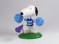 Danbury Mint Snoopy Spring Figurine - Cheerleader