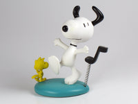 Danbury Mint Snoopy Spring Figurine - Dancing To The Music