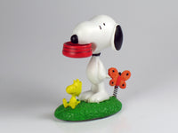 Danbury Mint Snoopy Spring Figurine - Feeding Time