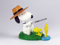 Danbury Mint Snoopy Spring Figurine - Fisherman