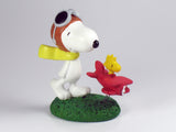 Danbury Mint Snoopy Spring Figurine - Flying Ace