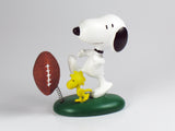 Danbury Mint Snoopy Spring Figurine - Football Player