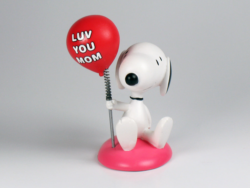Danbury Mint Snoopy Spring Figurine - Love You Mom