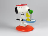 Danbury Mint Snoopy Spring Figurine - Tennis Player
