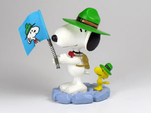 Danbury Mint Snoopy Spring Figure - Beaglescout