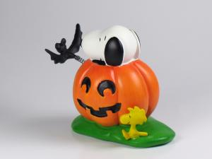 Danbury Mint Snoopy Spring Figure - Halloween