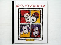 Snoopy by Everhart Dates To Remember Datebook