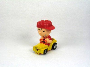 Charlie Brown Happy Die-Cast Heart Car