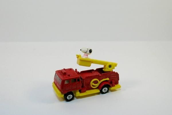 Snoopy Die-Cast Fire Truck