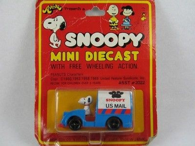 Snoopy Die-Cast Mail Truck