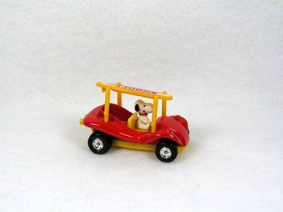 Snoopy Die-Cast Dune Buggy