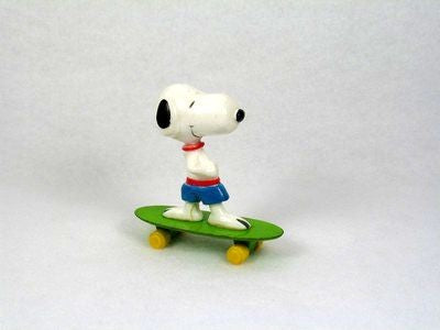 Snoopy on Die-Cast Skateboard