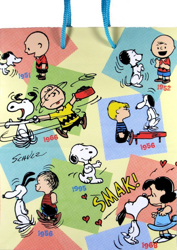 Peanuts Gang Decades Gift Bag