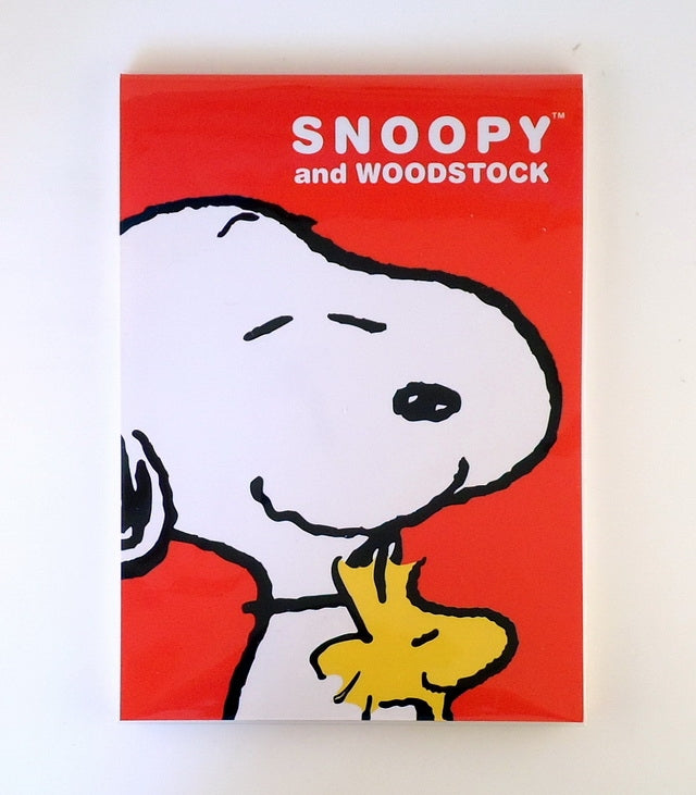 Snoopy and Woodstock Decorative Note Pad