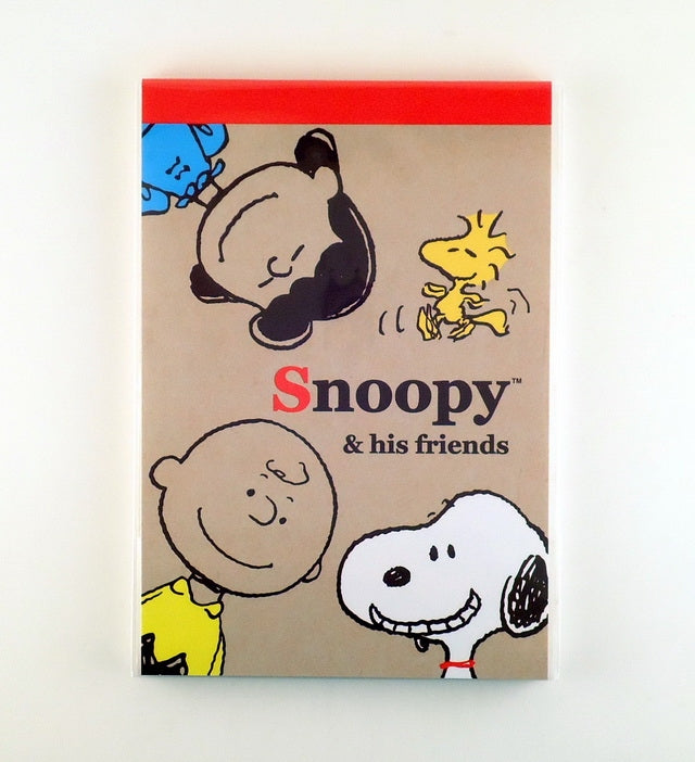Snoopy and Friends Decorative Note Pad
