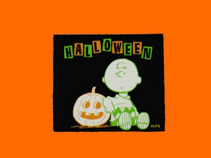 Charlie Brown Halloween Scrapbooking Embellishment