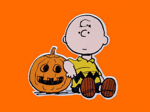 Charlie Brown By Jack 'O Lantern Scrapbook Embellishment