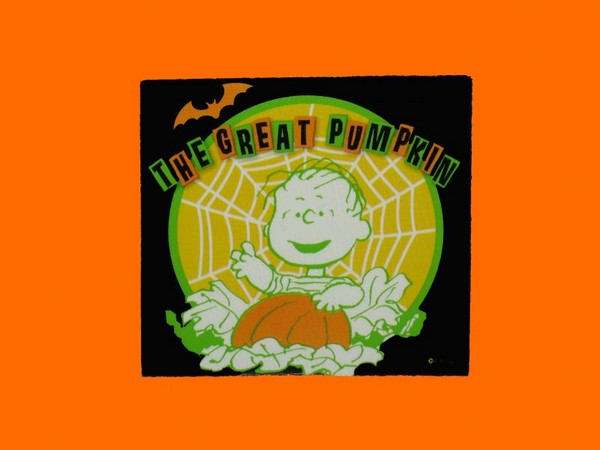 Linus and The Great Pumpkin Scrapbooking Embellishment