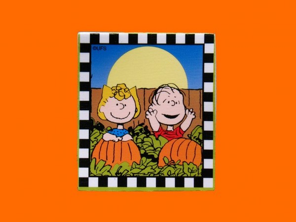 Sally and Linus Halloween Scrapbooking Embellishment
