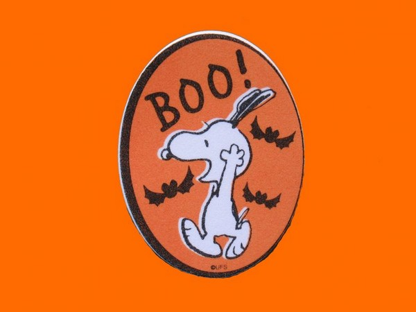 Snoopy Halloween Scrapbooking Embellishment