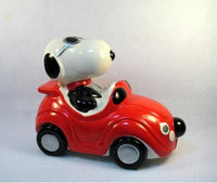 SNOOPY IN SPORTS CAR Bank