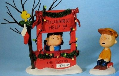 "Dept. 56 ""Christmas Spirit - 5 Cents"" With Lighted Psych. Booth"