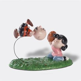 "Dept. 56 ""Just One More Time, Charlie Brown"" Figurine"