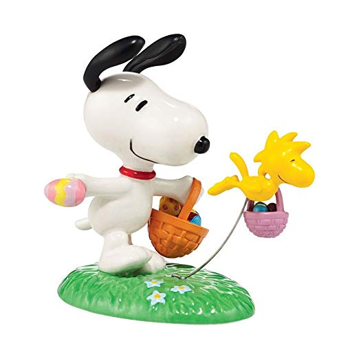 "Dept. 56 ""Snoopy, The Easter Beagle"" Figurine"